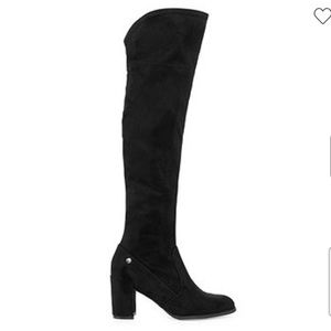LIZ CLAIBORNE Anabella Over The Knee Suede Boot